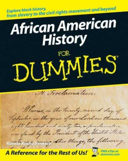 African American History for dummies