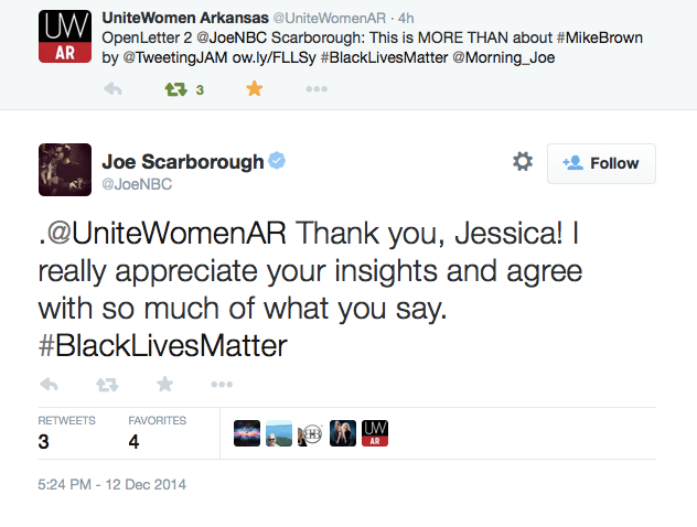 Joes-Response
